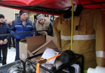 Семь добровольных пожарных подразделений в отдаленных сельских поселениях оснастят техникой