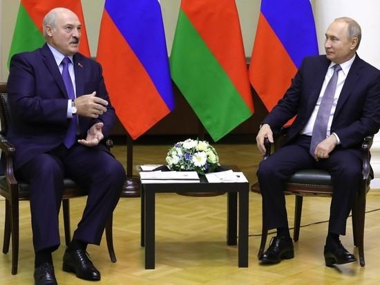 Лукашенко проведет бой с Путиным в Сочи
