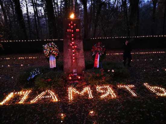 Дюссельдорф. 1500 свечей в память о погибших советских солдатах