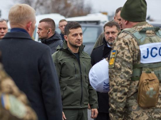 СМИ: Зеленский планирует создать в Донбассе