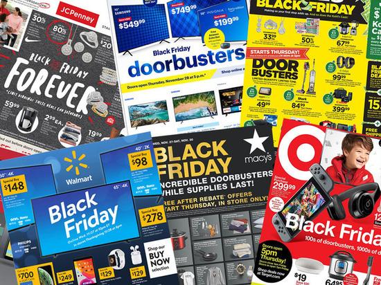 Американцы потратили на покупки в Черную пятницу и киберпонедельник в этом году больше, чем когда-либо прежде