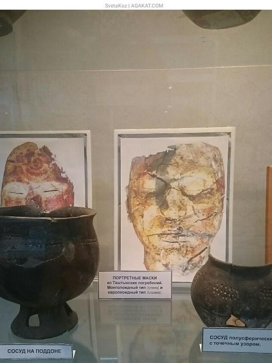 Саяногорский музей выставил кроманьонца, воина Кыргызского каганата и даму таштыкской эпохи