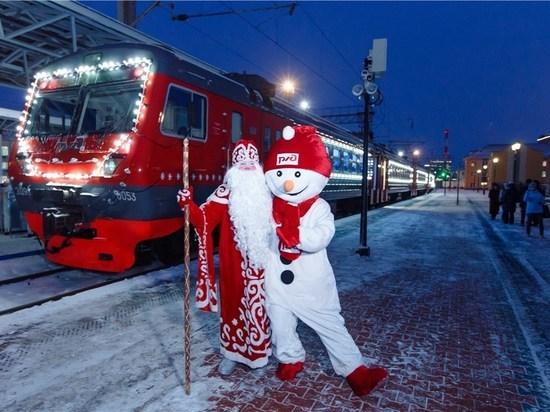 Кострома - Великий Устюг: железнодорожники планируют спецрейсы к Деду Морозу