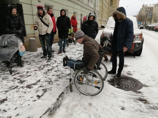 Недоступная среда: активисты проверили Литейный округ на удобство для инвалидов