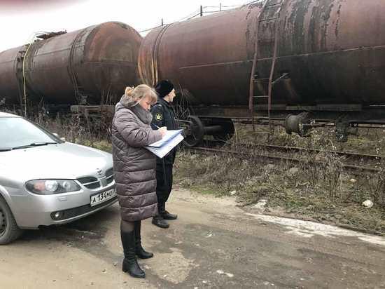 В Ивановской области арестовали цистерны Меланжевого комбината