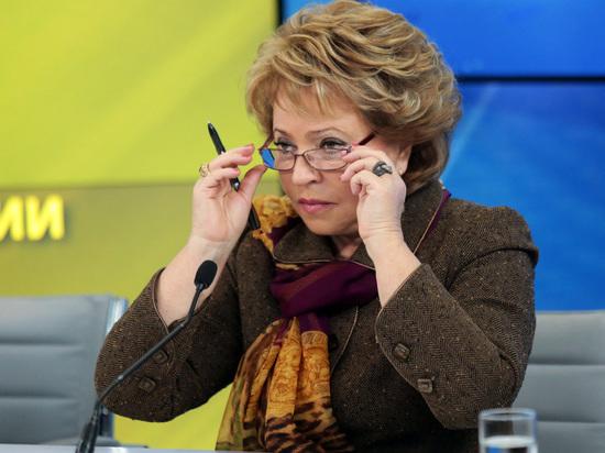Матвиенко призвала наказать министра энергетики Новака из-за «умных счетчиков»