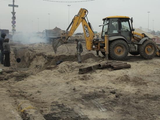 Контракт на строительство развязки в Ольгино приостановлен