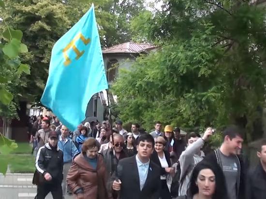 Крымско-татарские националисты объявили о марше на Крым