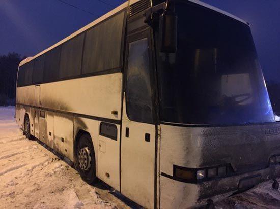 В Оренбургской области спасены пассажиры автобуса