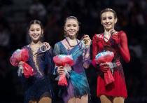 В короткой программе все шесть финалисток юниорского Гран-при показали запредельный уровень, допустив всего две небольших помарки на всех