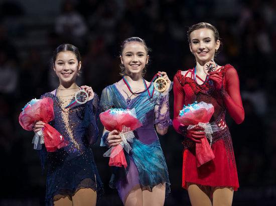 Валиева – гений: без четверных выиграла финал Гран-при после перелома