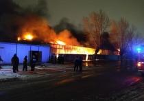 Площадь пожара на екатеринбургском рынке составила тысячу квадратных метров