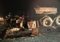 В столкновении грузовиков в Свердловской области погиб водитель КАМАЗа