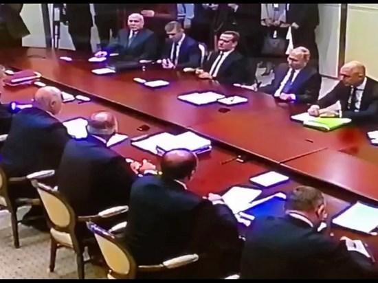 На переговорах Путина и Лукашенко мистически погас свет