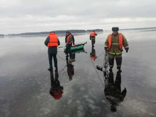 В Тверской области погиб мужчина, провалившись под лёд водохранилища