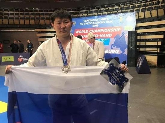 Калмыцкий рукопашник стал чемпионом России