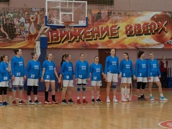 Ивановские спортсменки одержали очередную победу на Чемпионате России по баскетболу