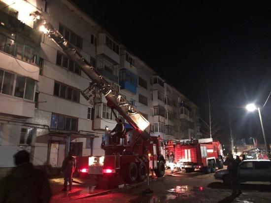 В Тверской области хозяйка квартиры уснула и напугала соседей