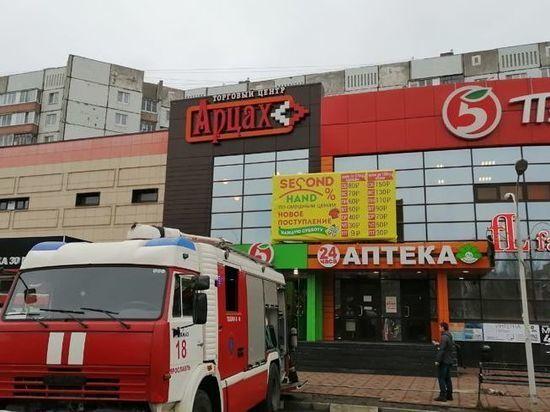 В Дзержинском районе Ярославля эвакуировали торговый центр