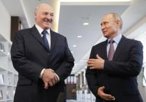 Путин и Лукашенко выпили за союз с постными лицами