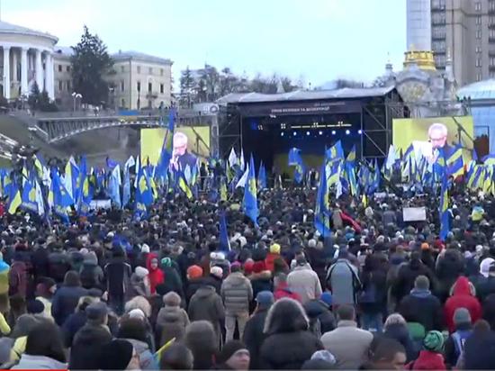 Радикалы проводили Зеленского в Париж жестким протестом: «Переговоры не нужны»