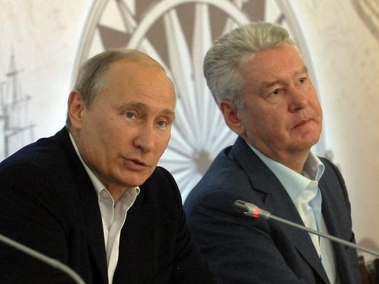 Собянин рассказал об отношениях с Путиным