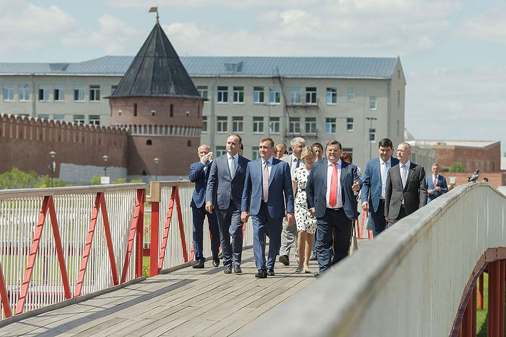 Чем Тульская область заслужила миллиард от Кремля