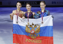 Их было четверо в финале Гран-при: Алина, Алена, Александра и Анна