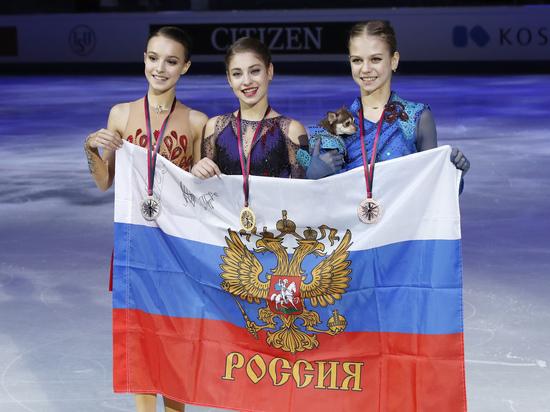 Косторная о тройной победе в финале Гран-при: «Мы – личности отдельные»