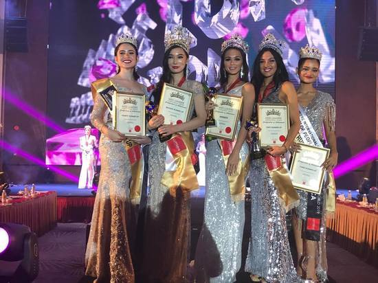 Новосибирская красавица выиграла конкурс в Малайзии