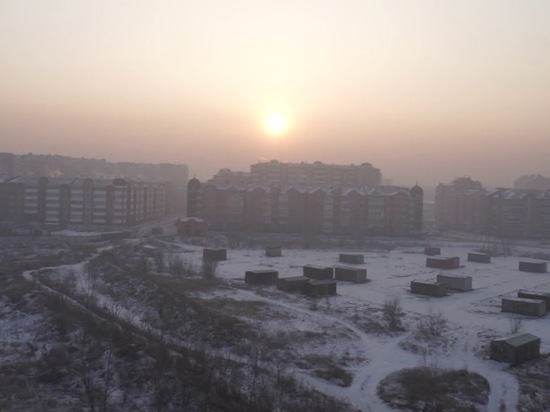 Хакасия: зима, пессимизм и смог в котловине