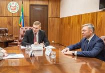 Главе Хакасии представили, назначенного Силуановым, руководителя местного Федерального казначейства