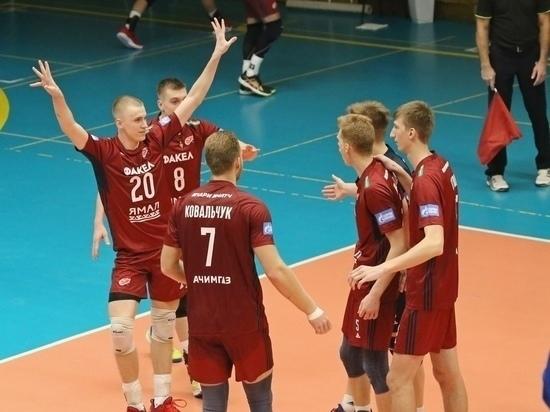 На Ямале впервые пройдет матч волейбольной лиги чемпионов