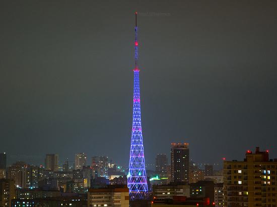 На телевизионной башне в Перми запустят «Новогоднее световое шоу»