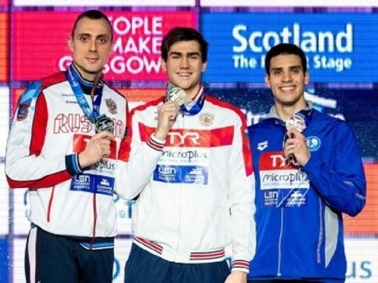 Пловец из Ямала завоевал «серебро» на чемпионате Европы