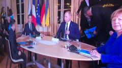Путин и Зеленский впервые вместе показались на публике
