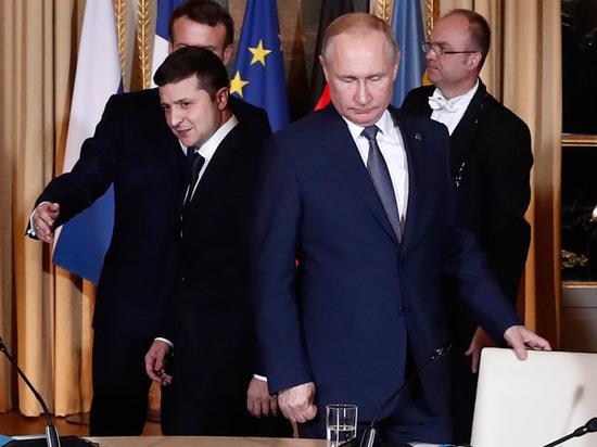 Путин прервал Зеленского: «Когда все выйдут»
