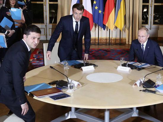 """На Украине назвали переговоры """"нормандской четверки"""" очень успешными"""