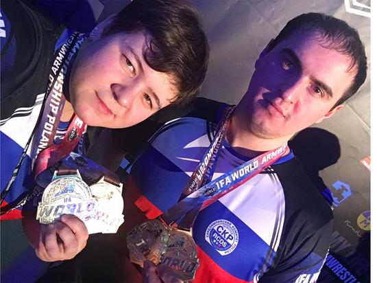 Чемпионат мира по армрестлингу принес ивановским сурдлимпийцам четыре «золотые» медали