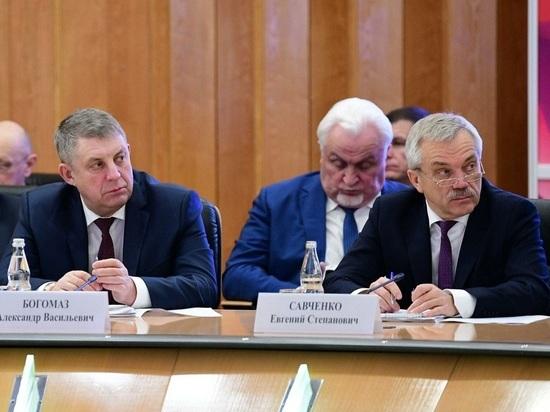 Рейтинг влияния губернаторов Черноземья и Брянска за ноябрь