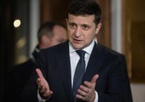 Выступление Зеленского в Париже разбило Украину на два лагеря