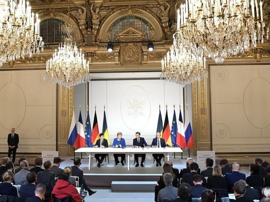 """Жители Донбаса обложили встречу """"нормандской четверки"""" крепкими словами"""