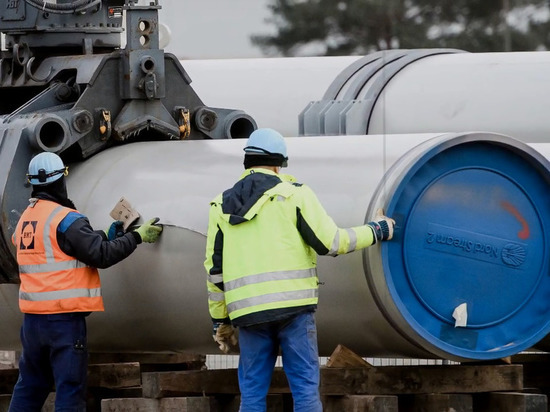 Немецкий бизнес осудил санкции США против «Северного потока-2»