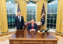 Трамп прокомментировал встречу с Лавровым