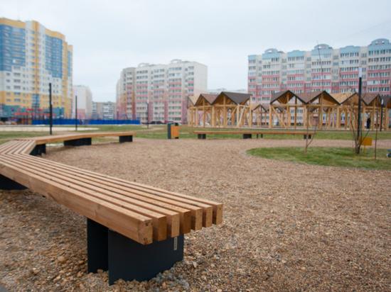 Благоустройство сквера в микрорайоне Московский в Иванове завершено
