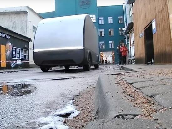 В Петербурге провели испытания беспилотного грузовика