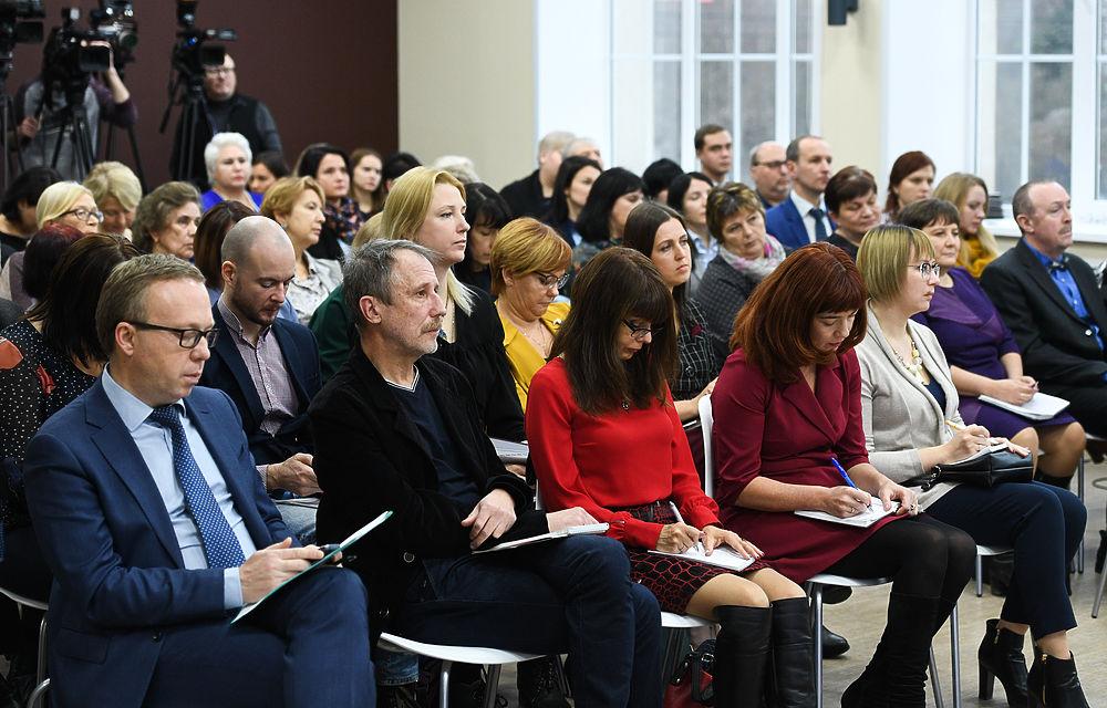 Игорь Руденя встретился с журналистами по итогам года в новом формате