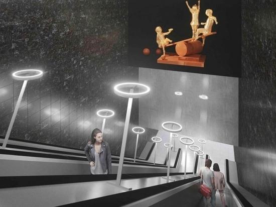 Стало известно, как будет выглядеть станция метро «Лианозово»