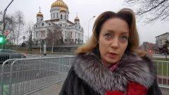 Это наш мэр: кадры прощания москвичей с Юрием Лужковым