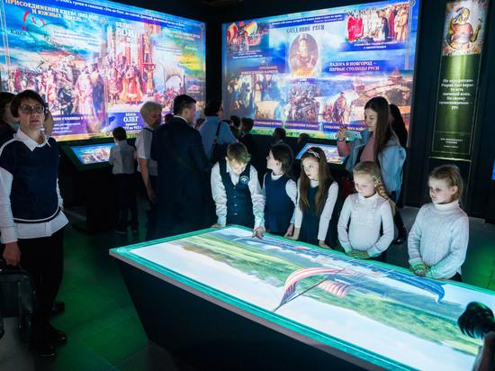 В Югре открылся мультимедийный парк «Россия — мояистория»